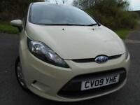 2009 09 FORD FIESTA 1.4 STYLE PLUS 5D AUTO 96 BHP ** 1 PREVIOUS OWNER , AUTOMATI