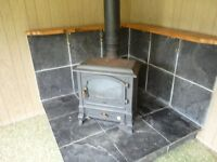 Oil Tank and Stove