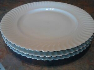 White China dishes/side , made by Kaiser, made in west germany