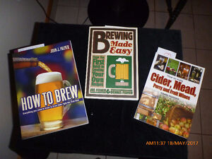 Wine, Beer and Cider making books