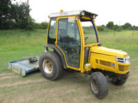 2005/55 ISEKI TH4330 MINI TRACTOR WITH SNOW PLOUGH OR GRITTER