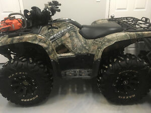 Yamaha grizzly eps 700