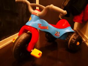 Fisher-Price trike - Thomas and Friends decal
