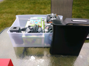 360 Elite 250GB w/36 games, 3 Controllers and Network Adapter