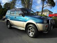 NISSAN MISTRAL 2.7 DIESEL 4X4 COMPLETE WITH M.O.T HPI CLEAR INC WARRANTY