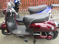 Burgundy Electric Scooter Armada Ion Brand New