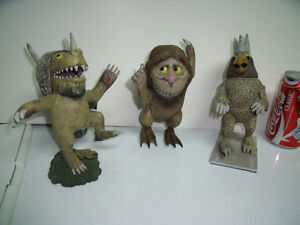 Where the Wild Things Are 3 figurines