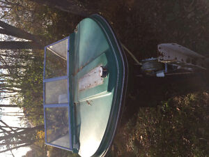 16 Ft runabout in good shape with 70 hp Evinrude motor