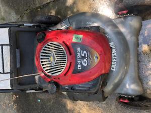Craftsman 6.5 horsepower lawnmower