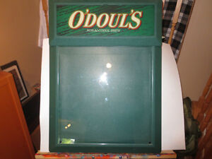 O'DOULS LIGHT UP BEER SIGN