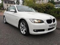 *12 MTHS WARRANTY*12 MTHS MOT*2009(59)BMW 320 SE DIESEL COUPE WITH ONLY 51K FSH*