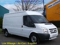 2011/61 Ford Transit 115ps T300L Medium Roof panel van [ A/Con+Sat Nav ]