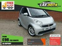 2014 smart fortwo 1.0 MHD Passion SoftTouch 2dr Coupe Petrol Automatic