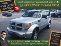 "Sparkle Silver Nitro 4X4 - TEXT ""AUTO LOAN"" TO 519 567 3020"