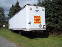 53' Foot Closed In Trailer