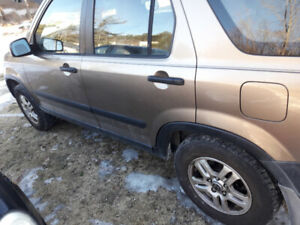 2002 crv all wheel drive