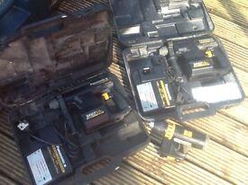 SDS Panasonic professional 24volt powerful drills x 2 price reduced