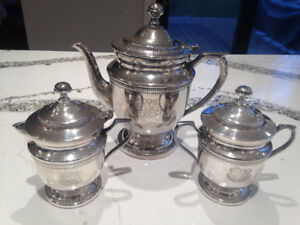 Silver-Plated Coffee/Tea Set