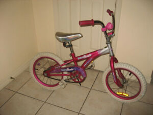 "16"" Girls BMX Bikes Shifting Gears & Supercycle / Razor Helmet"