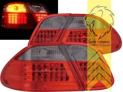 LED Rückleuchten für Mercedes Benz CLK W208 Coupe A208 Cabrio rot schwarz