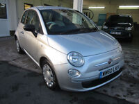 2011 Fiat 500 1.2 ( 69bhp ) POP - Rare Mercury Silver - Air Con Upgrade !!