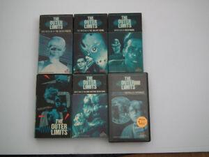 OUTER LIMITS, VHS SÉRIE CULTE ANNÉE 60