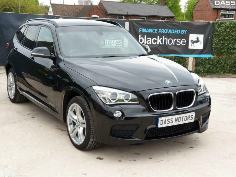 BMW X1 xDrive 20d Step Auto Start-Stop xDrive M Sport Black Auto Diesel,  2013 | in Sandwell, West Midlands | Gumtree