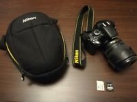 NIKON D5100 DSLR CAMERA practically new digital camera!