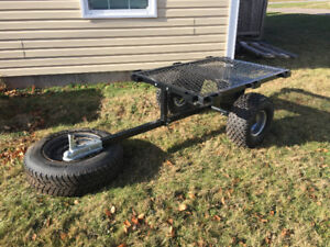 Small ATV trailer