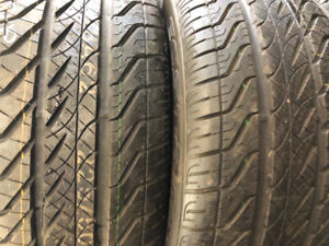 2 pneus neufs été 225/50r17