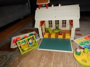 École Fisher Price 1971 vintage 923