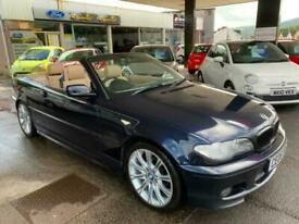BMW 318 2.0 2006MY Ci M Sport CEO6WFS convertible full leather 10 service stamps