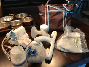 Double electric / battery breast pump