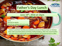 The Fluvarium's Father's Day Lunch