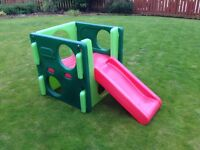 Little Tikes Activity Gym outdoor garden play slide