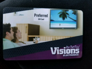 Vision Electronics Gift Card 460$
