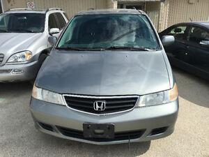 2002 Honda Odyssey. 7 seats. Fully loaded.