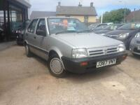1992 (J) Nissan Micra 1.2 GS, One Owner, 43,000 miles **Completely Standard**
