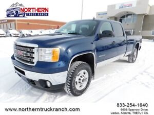 2013 GMC SIERRA 2500HD 4x4 CREWCAB SLE LONGBOX