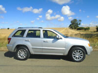 JEEP GRAND CHEROKEE 3.0 CRD V6 OVERLAND 4X4 AUTO 5DR - LOW MILEAGE - MEGA SPEC