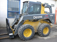 SKID STEERS FOR HIRE!