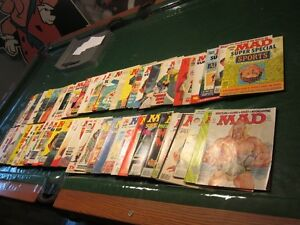 MAD Magazines (Vintage) from the 70's and 80's