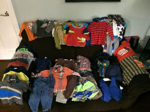 12 months to 2T boys clothing
