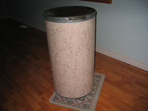 Antique storage drum