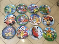 12 x McDonald's Plates