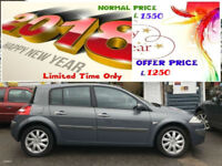2007 RENAULT MEGANE 1.6 VVT ( 111bhp ) DYNAMIQUE (AA ) WARRANTED INCLUDED