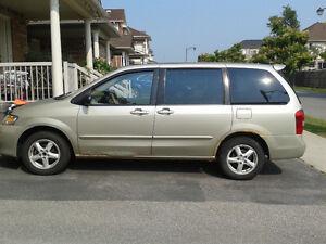 """2003 Mazda MPV LX Minivan, Van """"AS IS"""""""