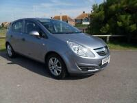 2009 09 VAUXHALL CORSA 1.2 ACTIVE 5DR SILVER, FSH