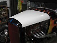 1932 Ford Fiberglass Top Hood - NEW