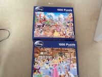 Disney character 1000 piece puzzles